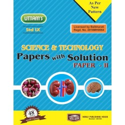 Uttams Paper with Solution Std 9 Science & Technology Part 2