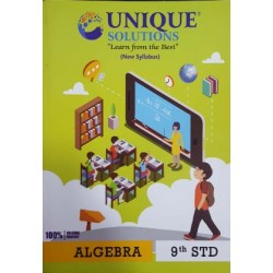 Unique Solution Mathematics 1 algebra 9th SSC State Board